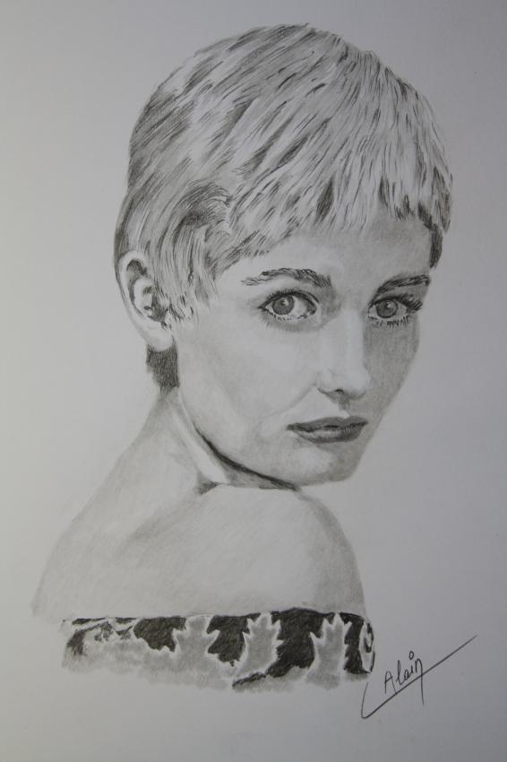 Jill Ireland by lharmonica1